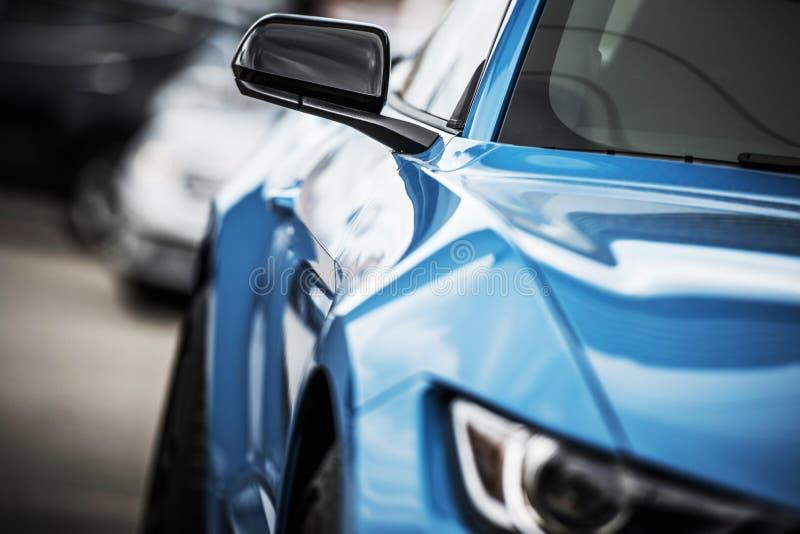 Совершенно новый боди-арт автомобиля стоковые изображения rf