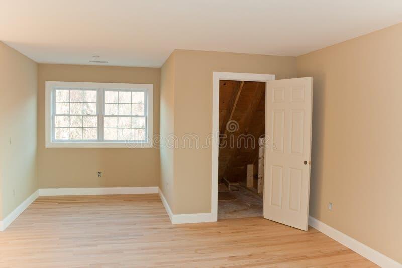Совершенно новый интерьер комнаты дома стоковое фото