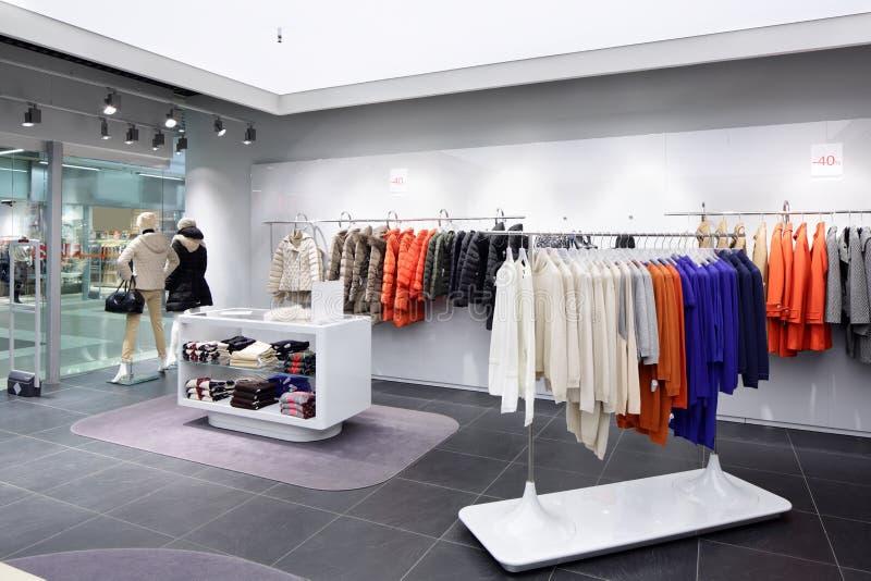 Download Совершенно новый интерьер магазина ткани Стоковое Фото - изображение насчитывающей цвет, lifestyle: 40575196