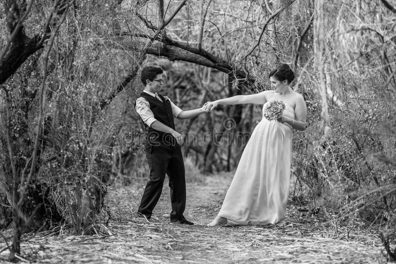 Совершенные пары танцуя совместно стоковое фото rf