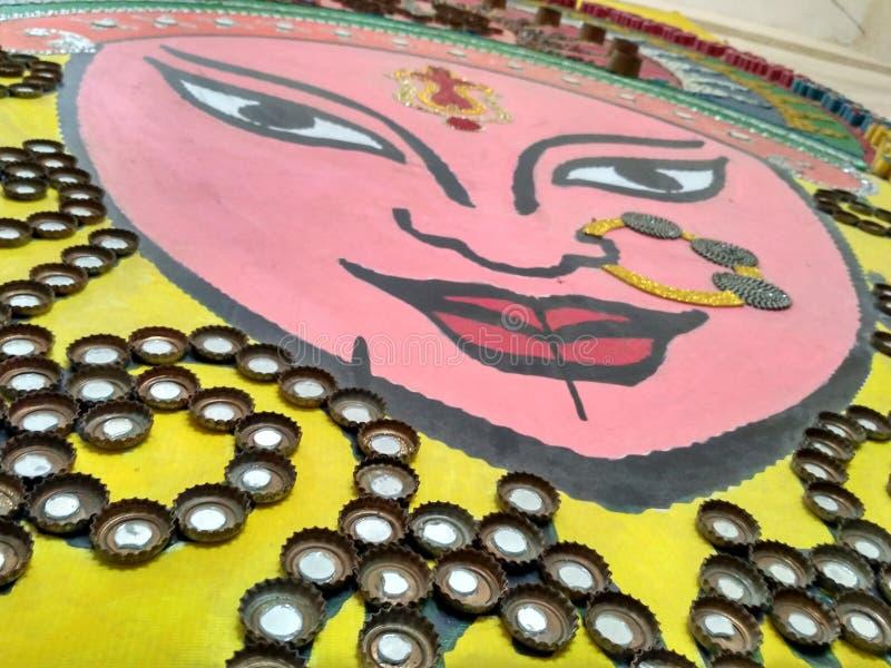 совершенный пример самого лучшего ou отхода изображение pooja durga стоковое изображение