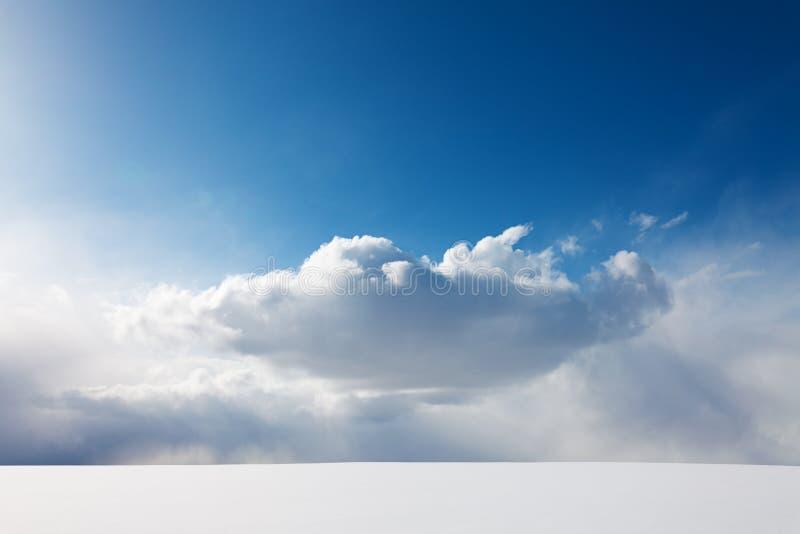 Совершенство зимы стоковые изображения rf