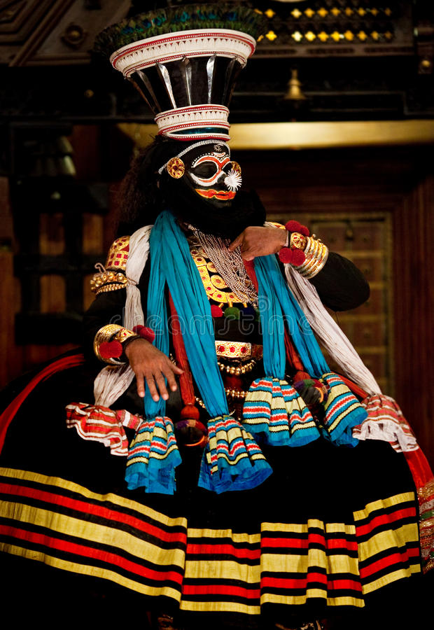 Download совершитель kathakali редакционное фото. изображение насчитывающей costume - 17604086