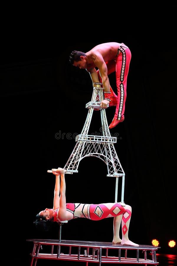Совершители цирка стоковые фото