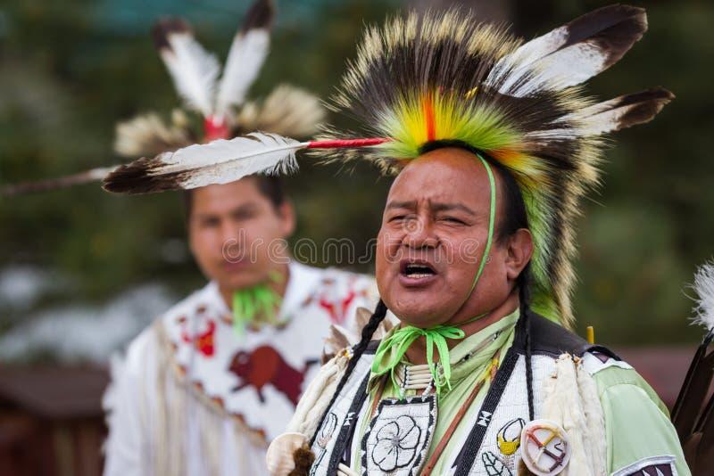 Совершитель коренного американца стоковые изображения rf