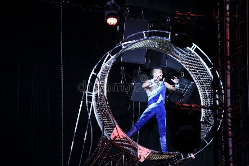 Совершитель цирка стоковые фото