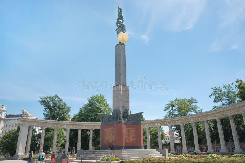 Советская вена мемориала войны стоковое изображение
