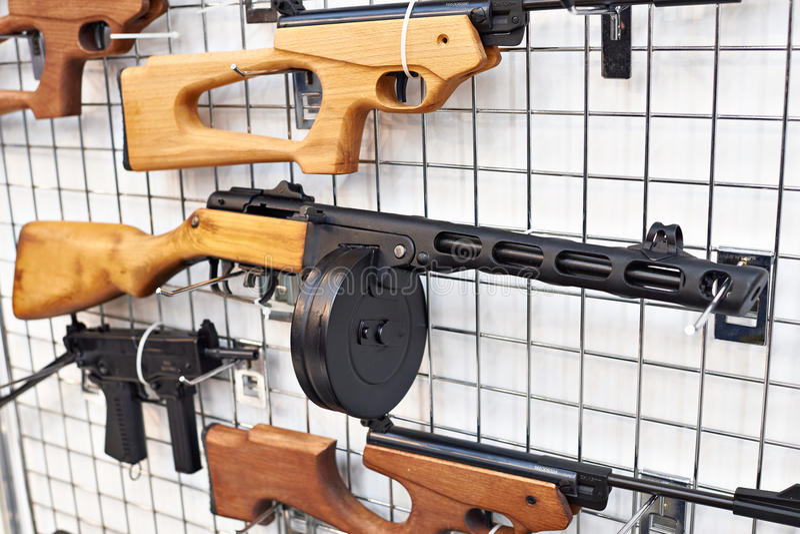 Советский пистолет-пулемет Shpagin PPSh-41 стоковые изображения rf