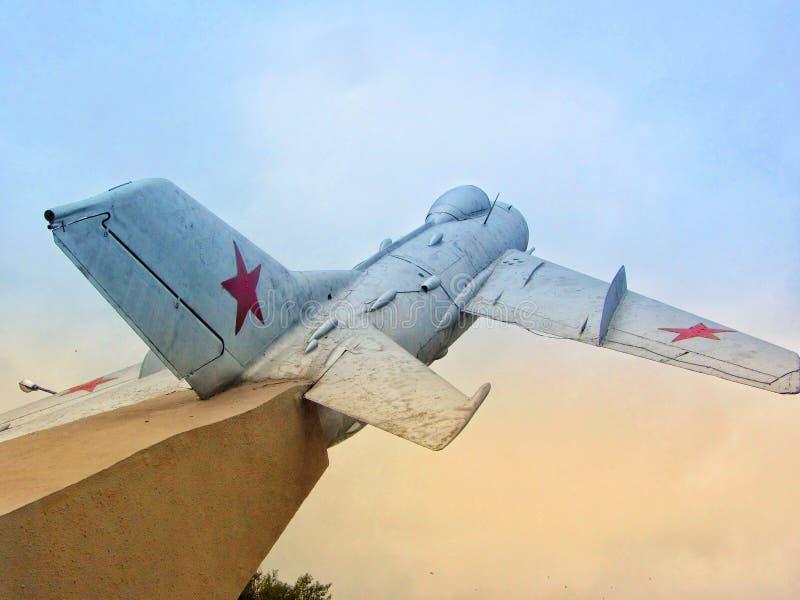 Советский плоский памятник стоковая фотография rf