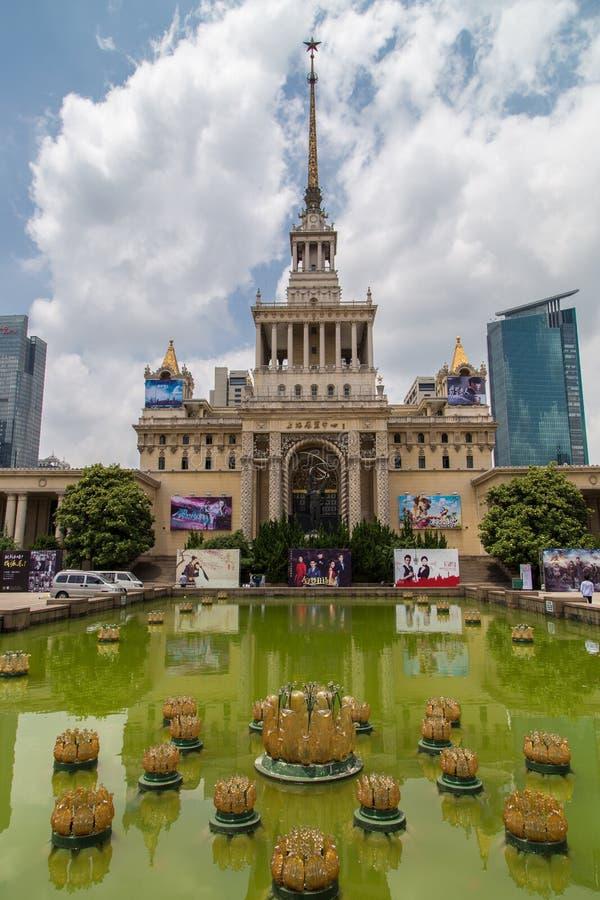 Советское здание в Шанхае стоковое фото rf