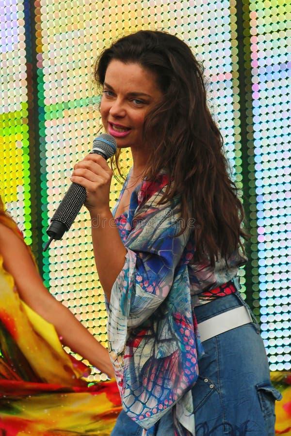 Совет и русский †Natasha Koroleva» хлопают певица и актриса украинского начала стоковое изображение rf