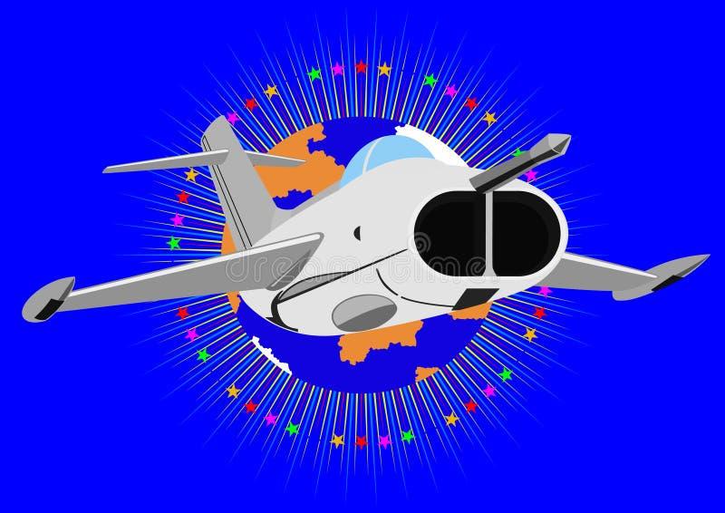 Совет самолет-истребителя бесплатная иллюстрация