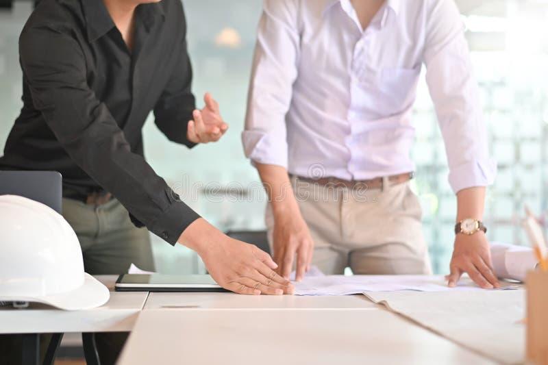 Совещание по корпоративной архитектуре планирования достижения резул стоковая фотография rf