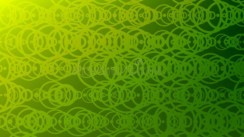 Современная абстрактная красочная предпосылка градиента с тонкой линией кольцами иллюстрация штока