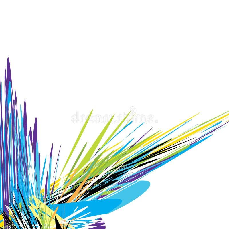 современная акварель иллюстрация вектора