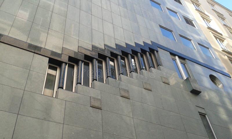 Современная архитектура, вена стоковое фото