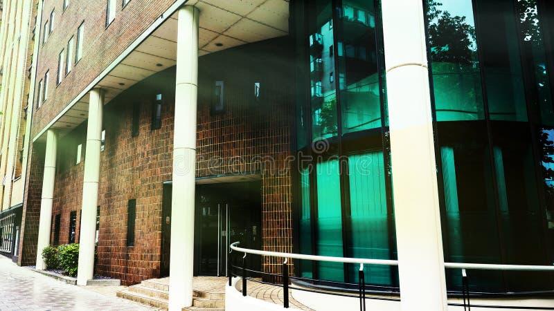 Современная архитектура в Саутгемптоне стоковая фотография