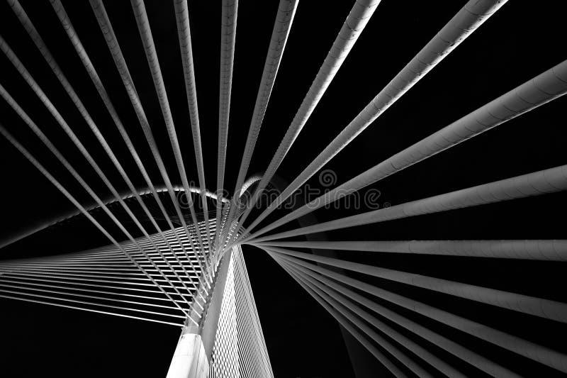 Современная архитектура моста стоковые изображения