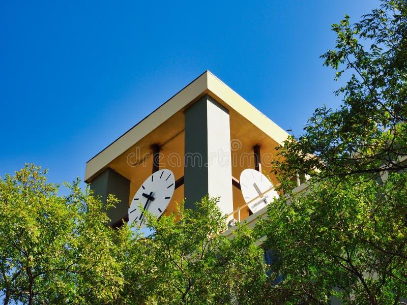 Современная башня с часами, Сидней, Австралия стоковая фотография