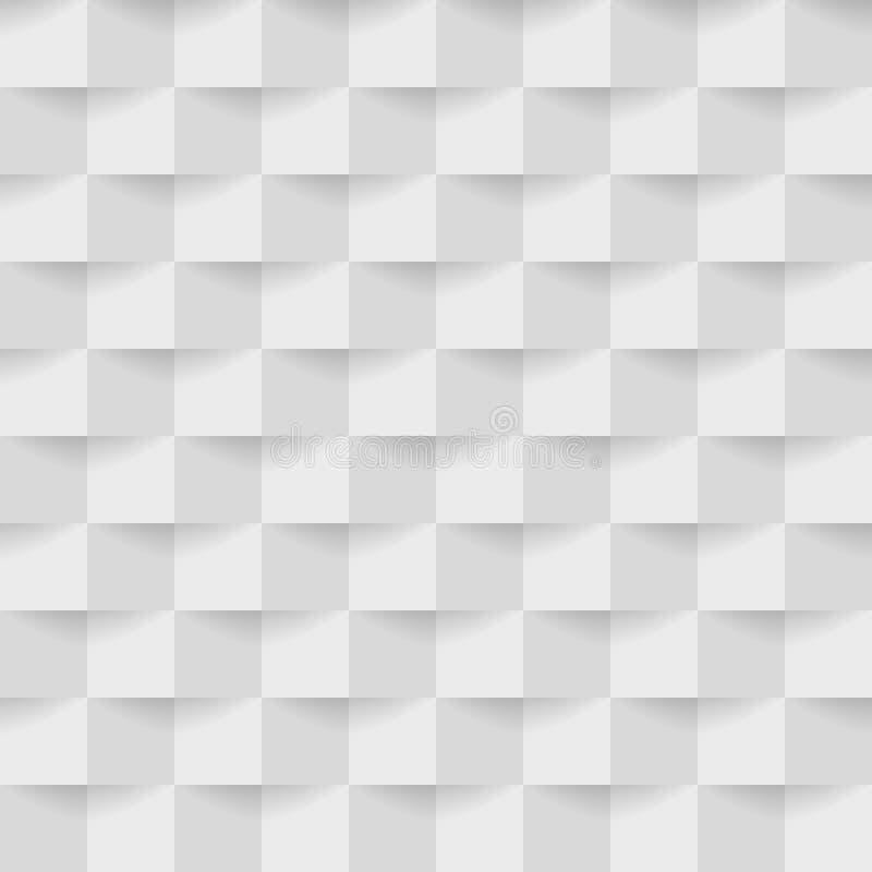 Современная белая серая геометрическая безшовная предпосылка для предпосылки стоковое фото