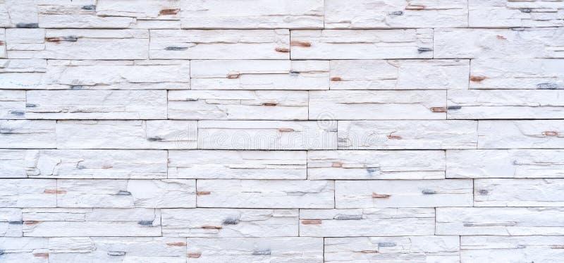 Современная белая украшенная предпосылка стены стоковое изображение rf