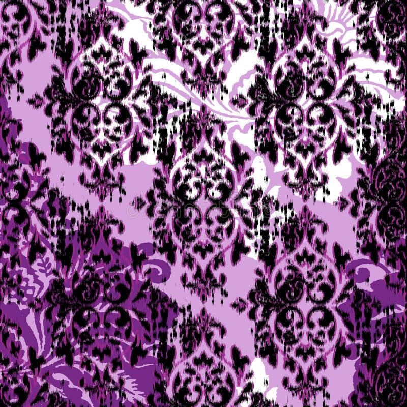 Современная винтажная картина штофа стоковые фотографии rf