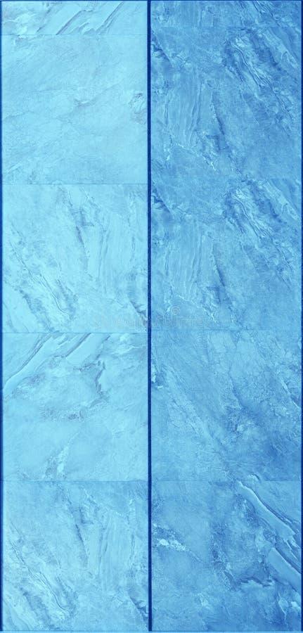 Современная голубая текстура стены плиток стоковое фото rf