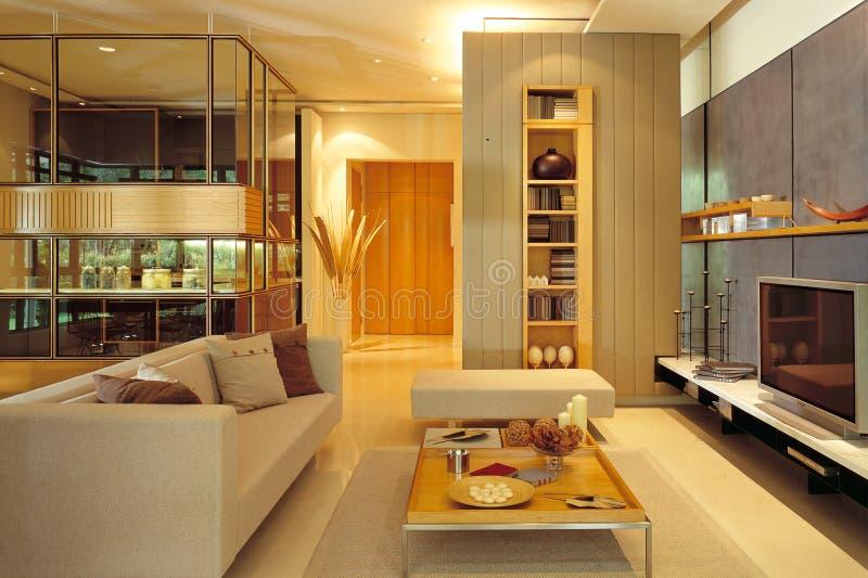 современная живущая комната