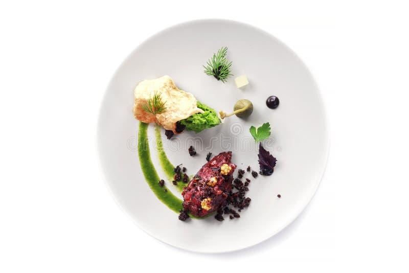 Современная молекулярная кухня стоковое изображение rf