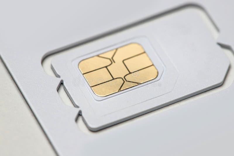 современная новая sim-карта смартфона стоковое фото