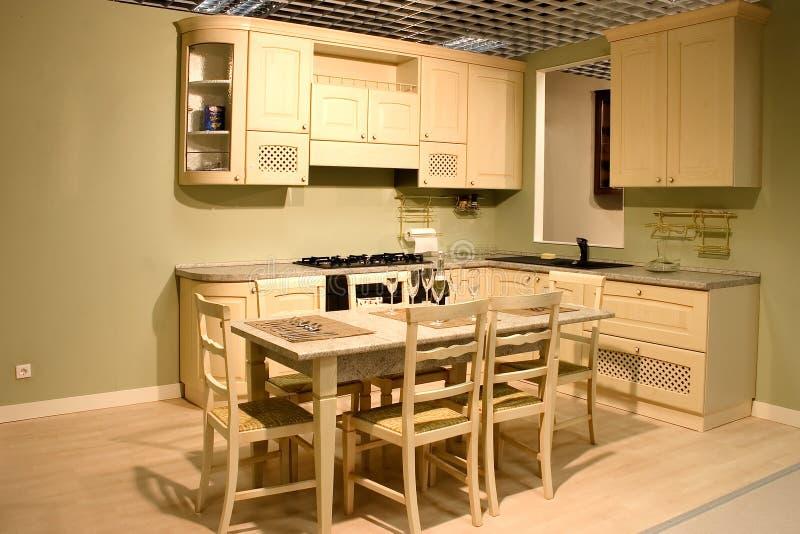 современная нутряная кухня стоковая фотография