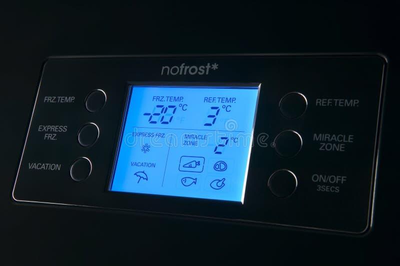 Download Современная панель индикации холодильника Стоковое Фото - изображение насчитывающей холодно, приборов: 33727046
