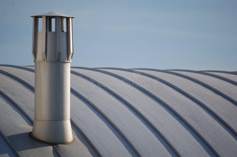 Современная печная труба стоковое изображение rf