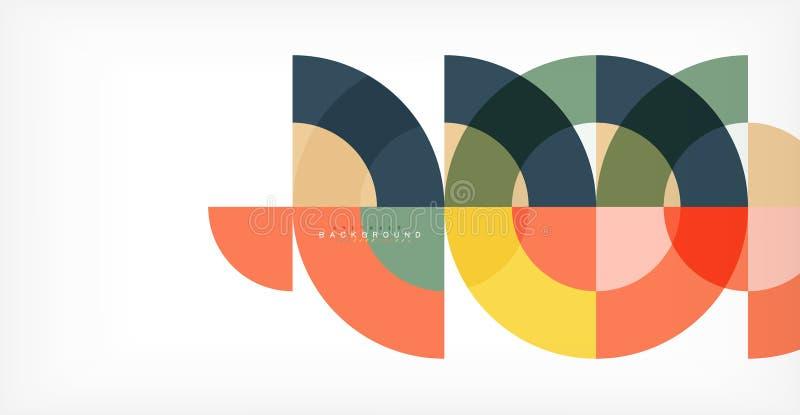 Современная предпосылка конспекта круга бесплатная иллюстрация