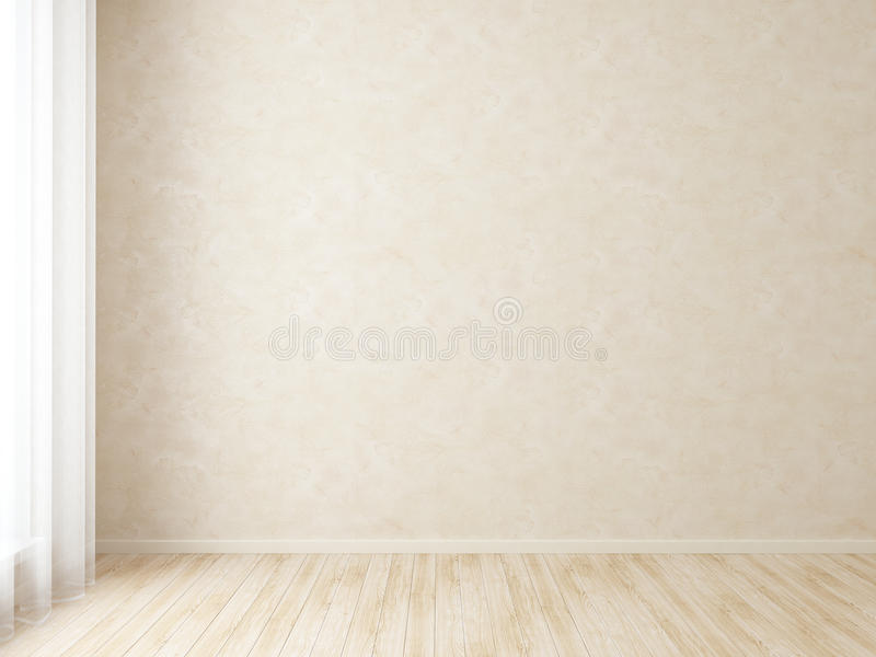 Современная пустая внутренняя комната бесплатная иллюстрация