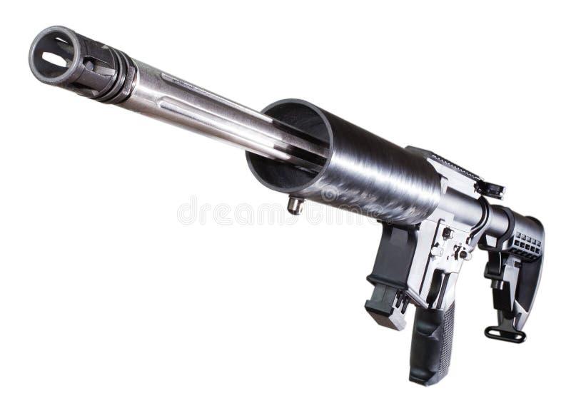 Download Современная спортивная винтовка Стоковое Изображение - изображение насчитывающей полимер, изолировано: 41661473