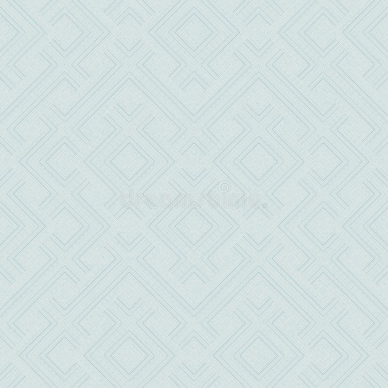 Современная стильная текстура с косоугольниками, квадратами вектор картины безшовный Повторять геометрические плитки иллюстрация штока
