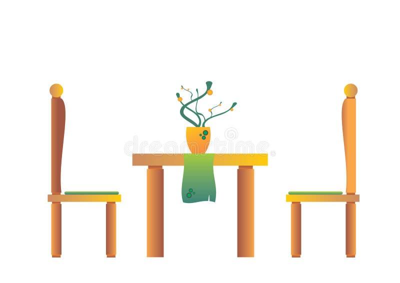 Современная столовая стоковое изображение