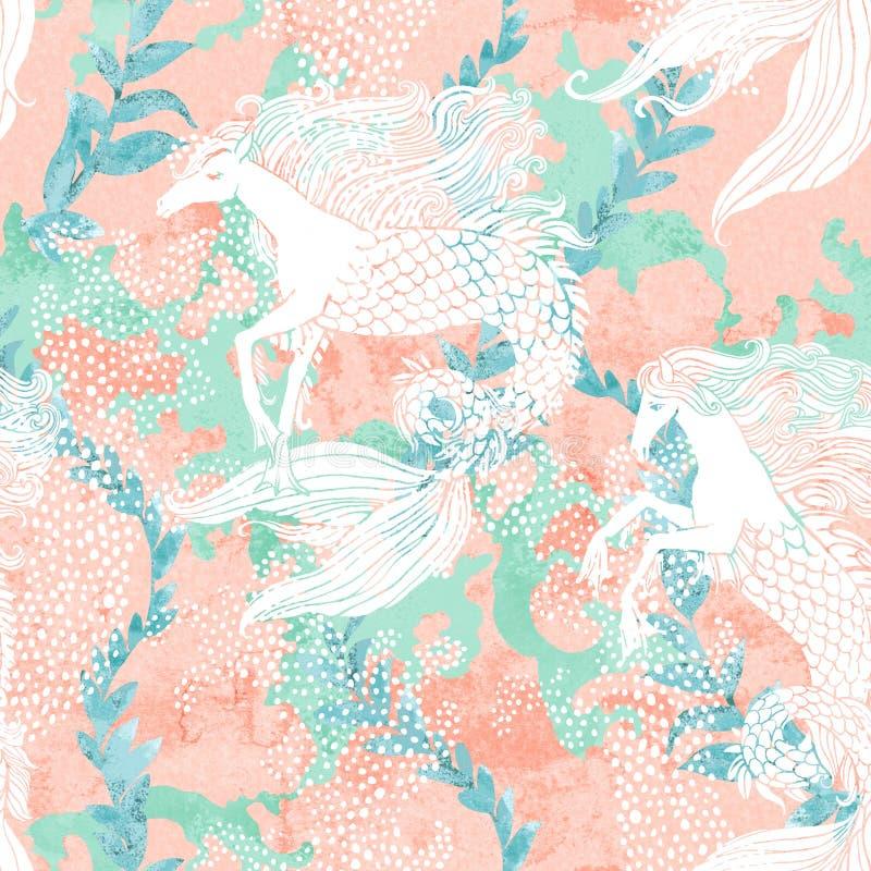 Современная цифровая иллюстрация в милом волшебном стиле сказки иллюстрация вектора