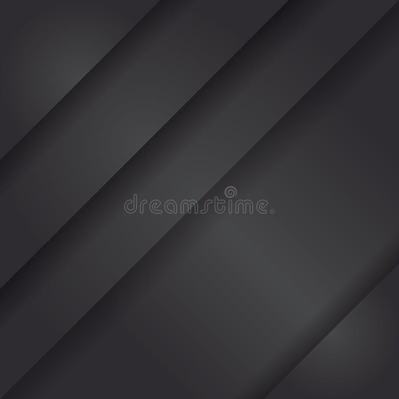 Современная черная предпосылка вектора бесплатная иллюстрация