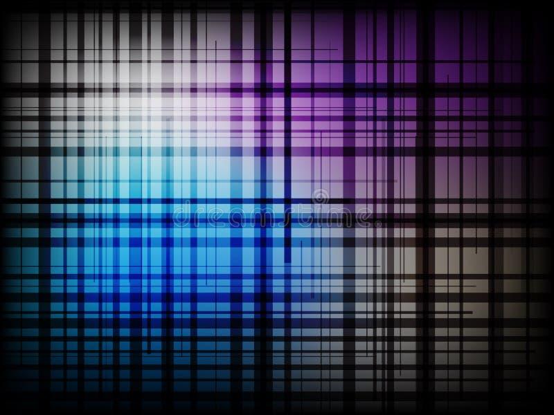 Современная chequered абстрактная предпосылка бесплатная иллюстрация
