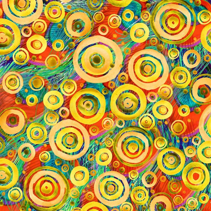 Современное абстрактное искусство Современная предпосылка акварели бесплатная иллюстрация