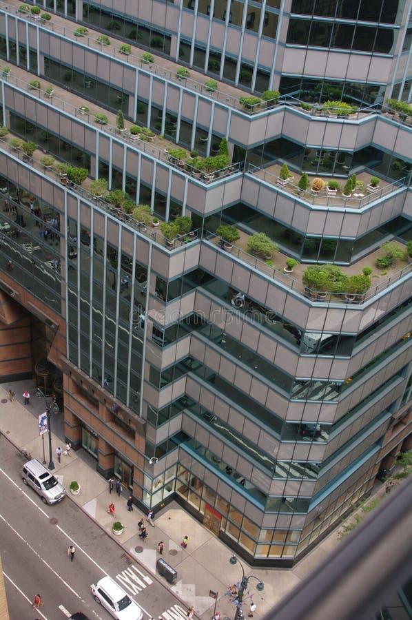 Современное здание, американский город стоковые изображения rf