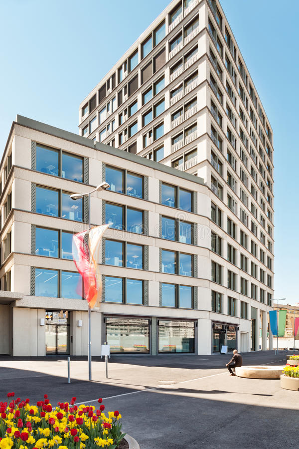 Download Современное здание, внешнее Стоковое Изображение - изображение насчитывающей дело, центрально: 40578257