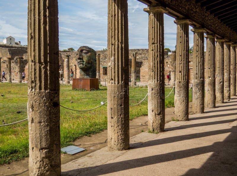 Современное искусство в Помпеи стоковое изображение rf