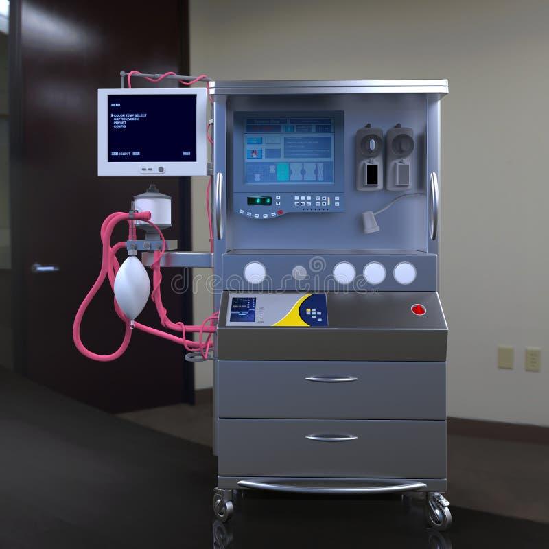 Современное оборудование больницы стоковые изображения