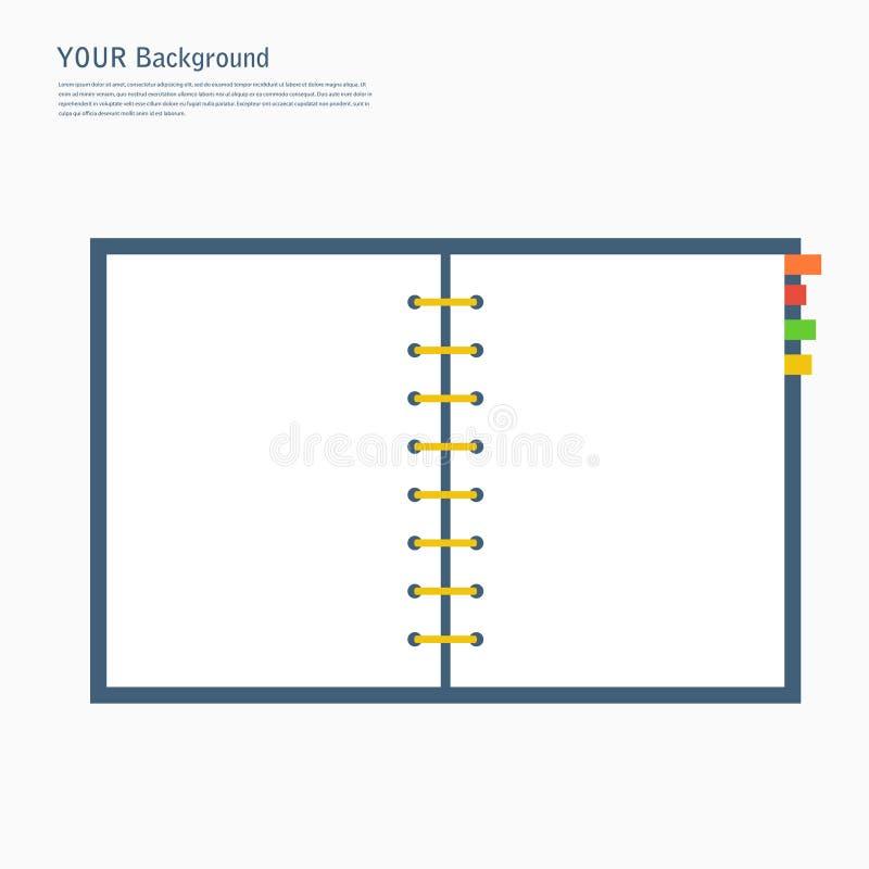 Современное плоское собрание иллюстрации вектора значков иллюстрация штока