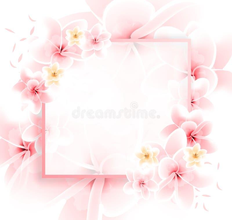 современное цветочное искусство - пастельно-розовый цветочный состав бесплатная иллюстрация
