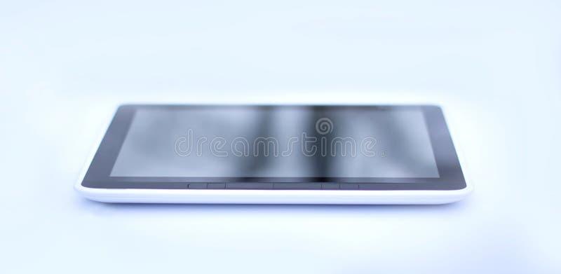 Современное eBook Изолировано на черной предпосылке стоковые изображения rf