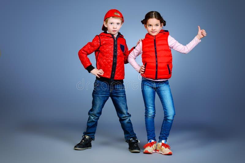 Современные дети стоковое изображение